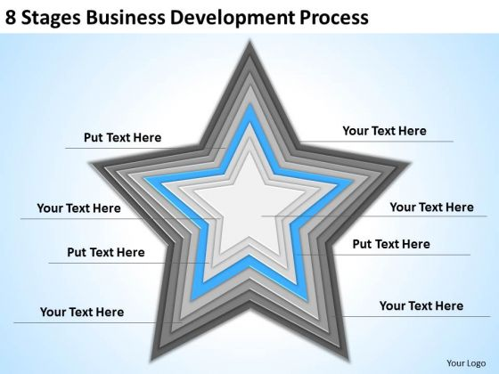 8 Stages Business Development Process Ppt Examples Of Plan PowerPoint Slides