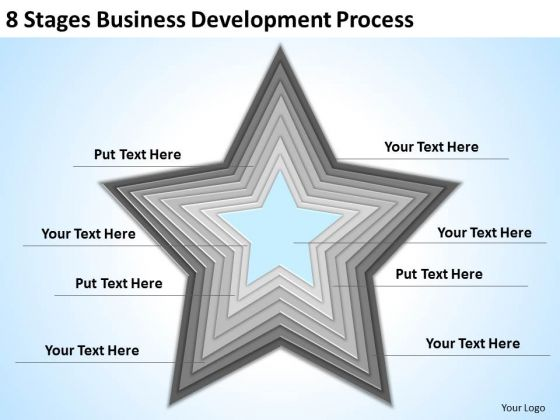 8 Stages Business Development Process Ppt How To Complete Plan PowerPoint Templates