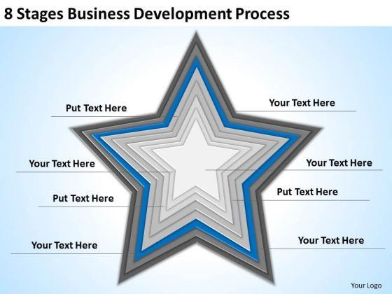 8 Stages Business Development Process Ppt Plan PowerPoint Templates