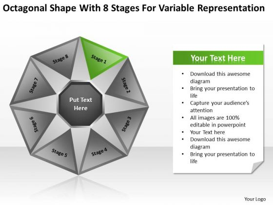 8 Stages For Variable Representation Ppt Business Plans Restaurants PowerPoint Slides