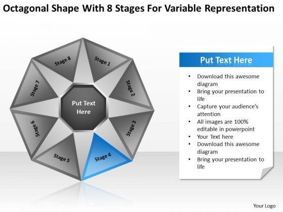 8 Stages For Variable Representation Ppt How To Write Out Business Plan PowerPoint Templates