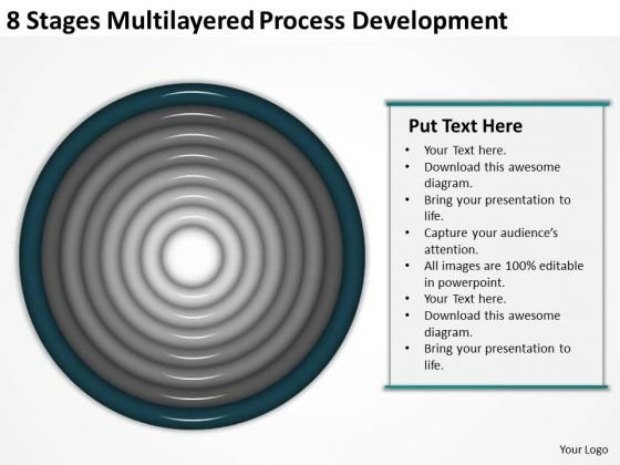 8 Stages Multilayered Process Development Ppt Make Business Plan PowerPoint Templates