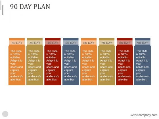 90 Day Plan Ppt PowerPoint Presentation Designs Download