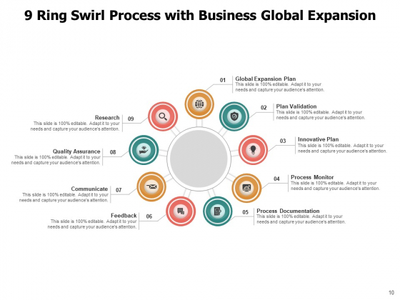 9_Circle_Process_Cycle_Business_Target_Growth_Ppt_PowerPoint_Presentation_Complete_Deck_Slide_10