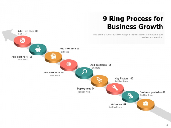 9_Circle_Process_Cycle_Business_Target_Growth_Ppt_PowerPoint_Presentation_Complete_Deck_Slide_4