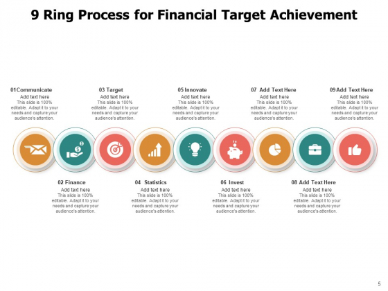 9_Circle_Process_Cycle_Business_Target_Growth_Ppt_PowerPoint_Presentation_Complete_Deck_Slide_5