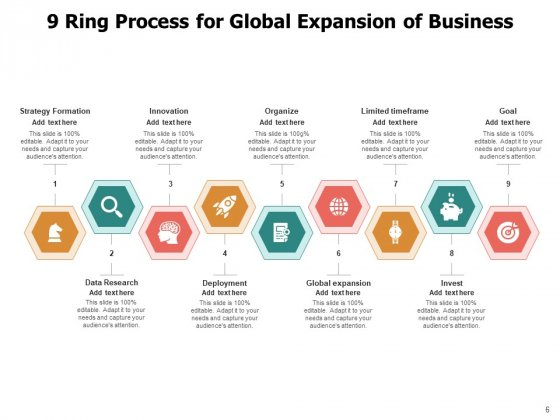 9_Circle_Process_Cycle_Business_Target_Growth_Ppt_PowerPoint_Presentation_Complete_Deck_Slide_6
