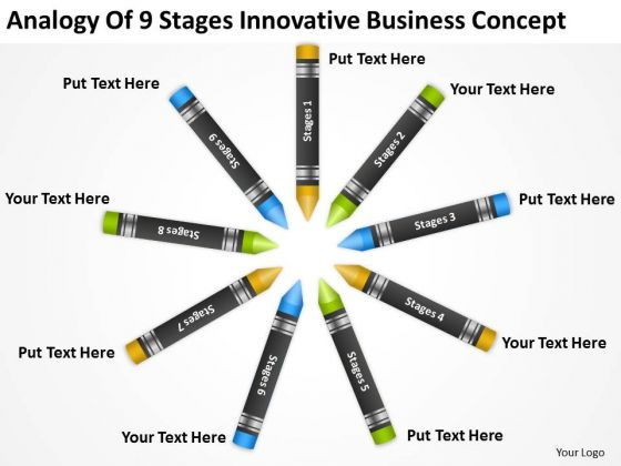 9 Stages Innovative Business Concept Ppt Best Plan Software PowerPoint Templates