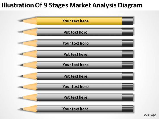 9 Stages Market Analysis Diagram Ppt Example Business Plan Outline PowerPoint Slides