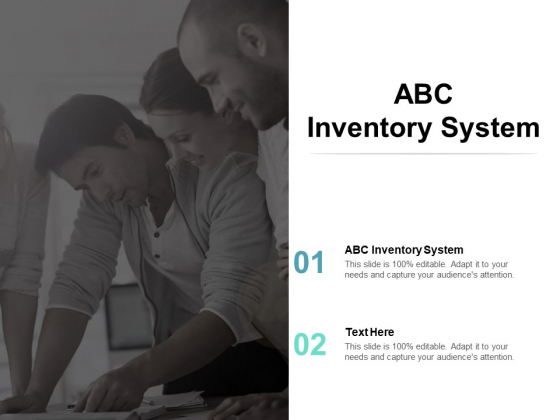 ABC Inventory System Ppt PowerPoint Presentation Model Microsoft Cpb