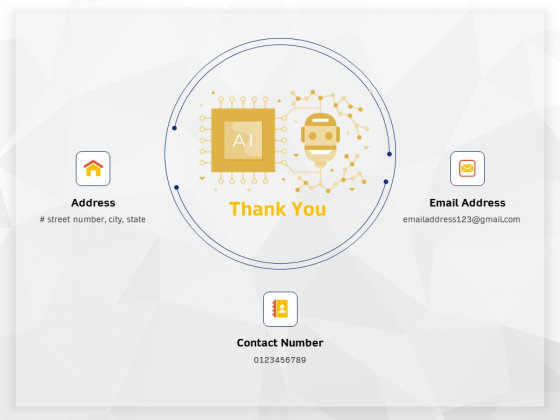 AI High Tech PowerPoint Templates Thank You Ppt Inspiration Professional PDF