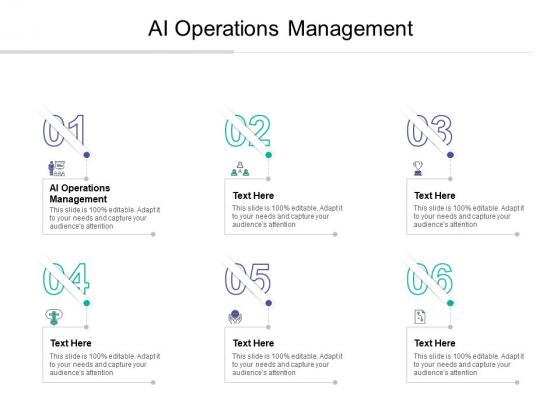 AI Operations Management Ppt PowerPoint Presentation Outline Design Inspiration Cpb
