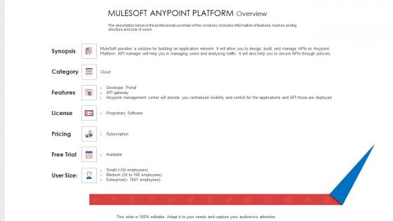 API Administration Solution Mulesoft Anypoint Platform Overview Ppt Portfolio Sample PDF