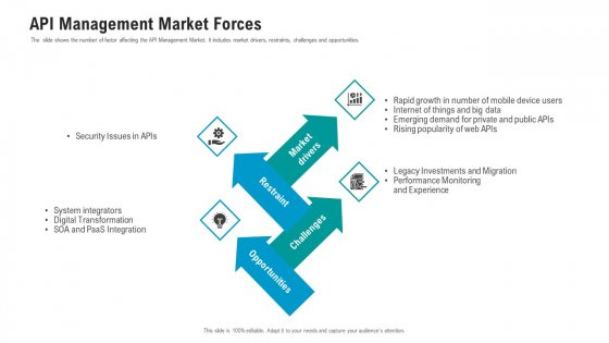 API Ecosystem API Management Market Forces Graphics PDF
