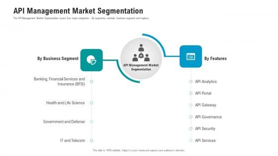 API Ecosystem API Management Market Segmentation Template PDF