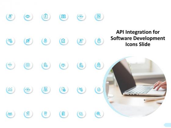 API Integration For Software Development Icons Slide Ppt Gallery Background PDF