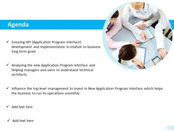 API Integration Software Development Agenda Management Ppt Pictures Skills PDF