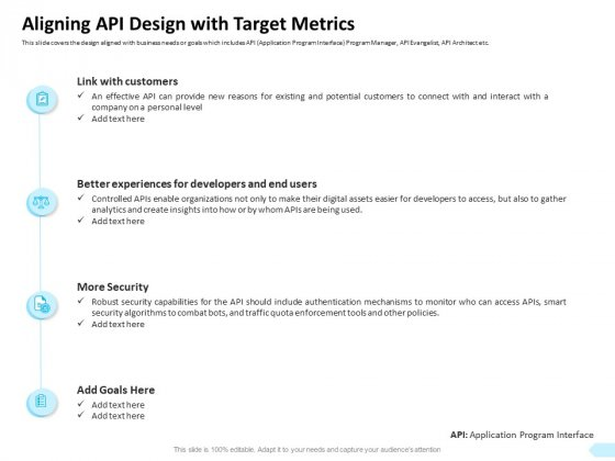 API Integration Software Development Aligning API Design With Target Metrics Topics PDF