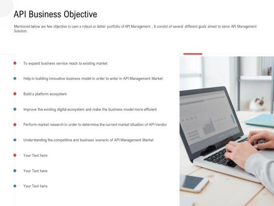 API Outline API Business Objective Ppt Summary Backgrounds PDF
