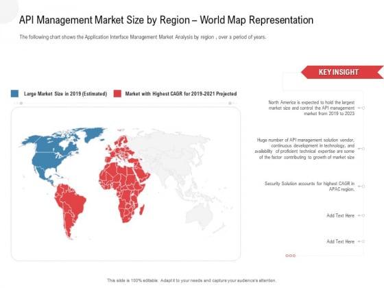 API Outline API Management Market Size By Region World Map Representation Themes PDF
