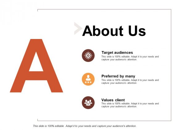 A Preferred By Many Target Audiences Ppt PowerPoint Presentation Gallery Topics