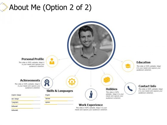 About Me Achievements Ppt PowerPoint Presentation Portfolio Samples