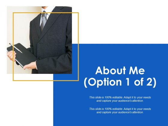 About Me Management Ppt Powerpoint Presentation Inspiration Outline