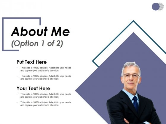 About Me Template 1 Ppt PowerPoint Presentation File Slide