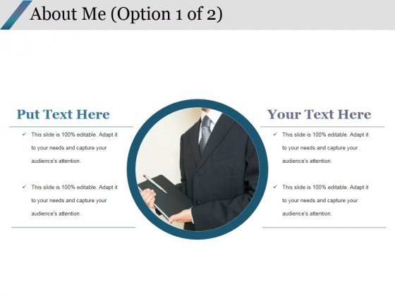 About Me Template 1 Ppt PowerPoint Presentation Ideas Icon
