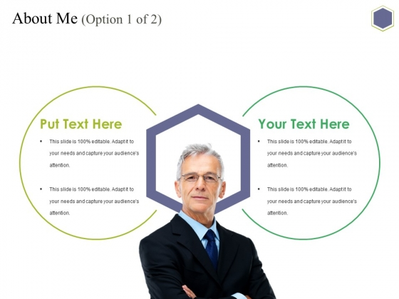 About Me Template 1 Ppt PowerPoint Presentation Inspiration Example