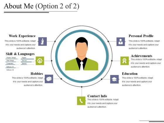 About Me Template 2 Ppt PowerPoint Presentation Slides Show