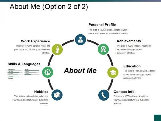 About Me Template 2 Ppt PowerPoint Presentation Styles Graphics Pictures