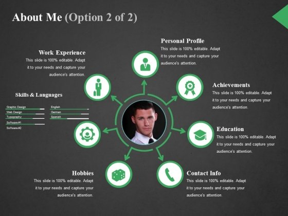 About Me Template 2 Ppt PowerPoint Presentation Styles Professional