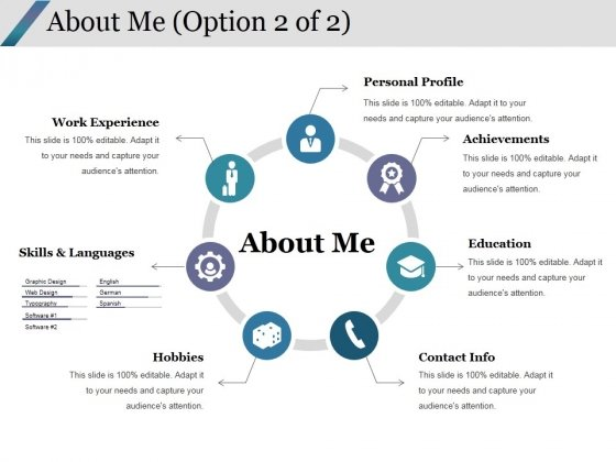 About Me Template 2 Ppt Powerpoint Presentation Visuals Powerpoint