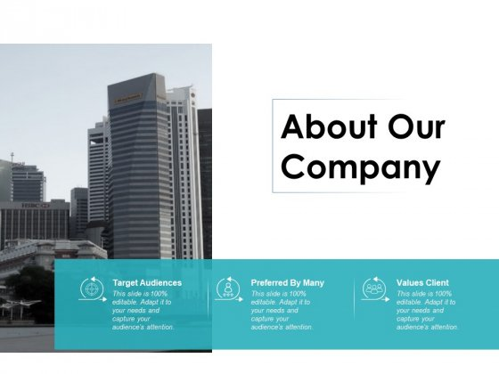About Our Company Business Ppt PowerPoint Presentation Ideas Guidelines