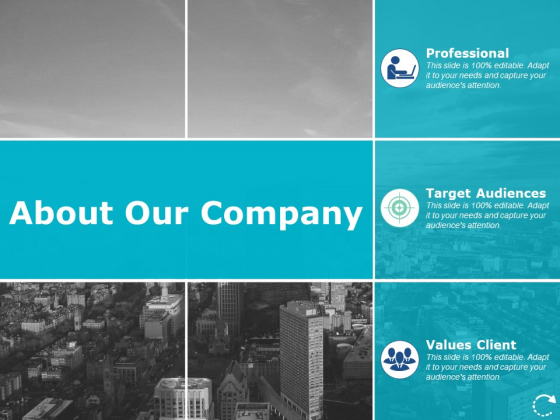 About Our Company Business Ppt PowerPoint Presentation Show Aids