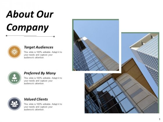 About Our Company Business Ppt PowerPoint Presentation Show Good