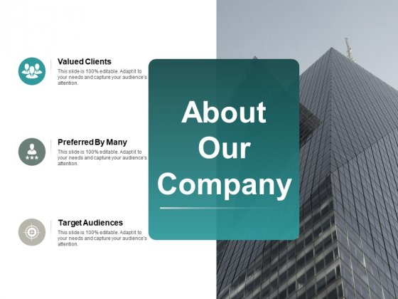 About Our Company Ppt PowerPoint Presentation Layouts Information