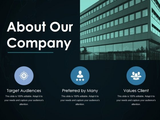 About Our Company Ppt PowerPoint Presentation Pictures Layouts