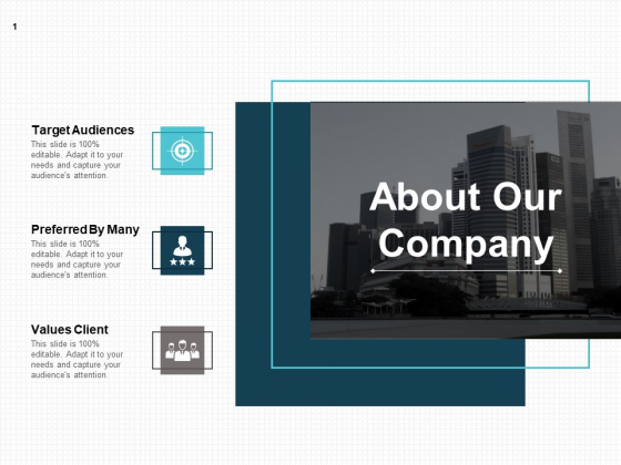 About Our Company Ppt PowerPoint Presentation Show Background