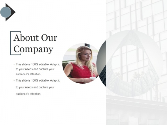 About Our Company Ppt PowerPoint Presentation Show Backgrounds