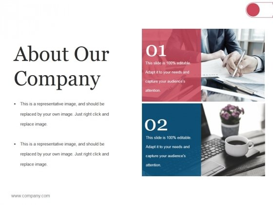 About Our Company Ppt PowerPoint Presentation Slide