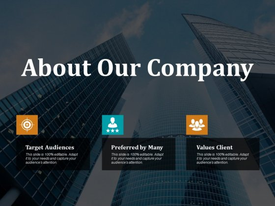 About Our Company Ppt PowerPoint Presentation Slides Sample