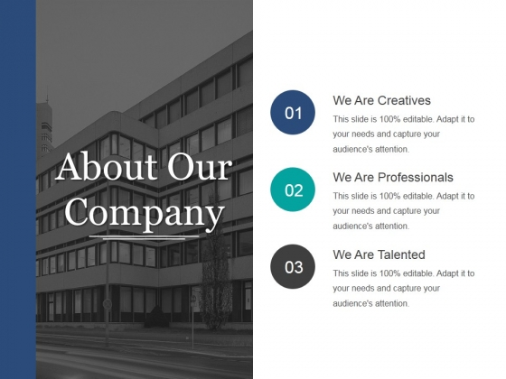 About Our Company Ppt PowerPoint Presentation Styles