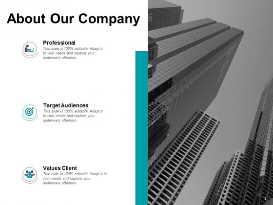 About Our Company Target Audiences Ppt PowerPoint Presentation Infographic Template Clipart Images