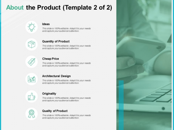 About The Product Originality Ppt PowerPoint Presentation Professional Slide Portrait