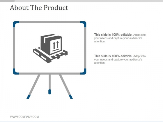 About The Product Ppt PowerPoint Presentation Images