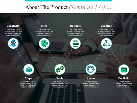 About The Product Template 1 Ppt PowerPoint Presentation Gallery Outline
