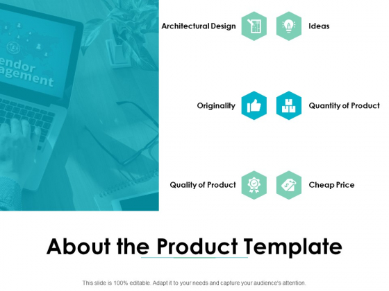 About The Product Template Ppt PowerPoint Presentation Gallery Format Ideas
