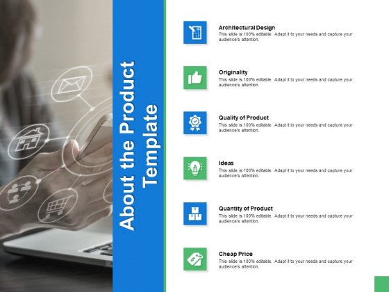 About The Product Template Ppt PowerPoint Presentation Slides Elements